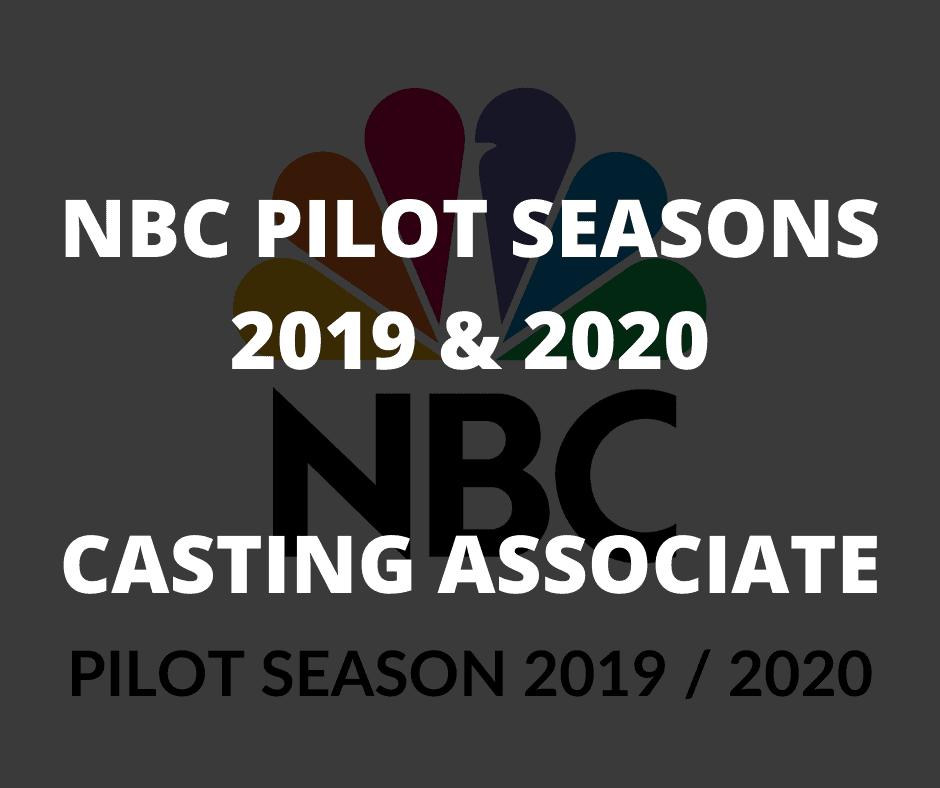 NBC Pilot Season Details